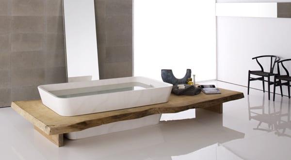 moderne holzeinrichtung f rs bad freshouse. Black Bedroom Furniture Sets. Home Design Ideas