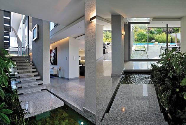 Wassereinrichtung im innenraum freshouse for Haus gestaltungsideen