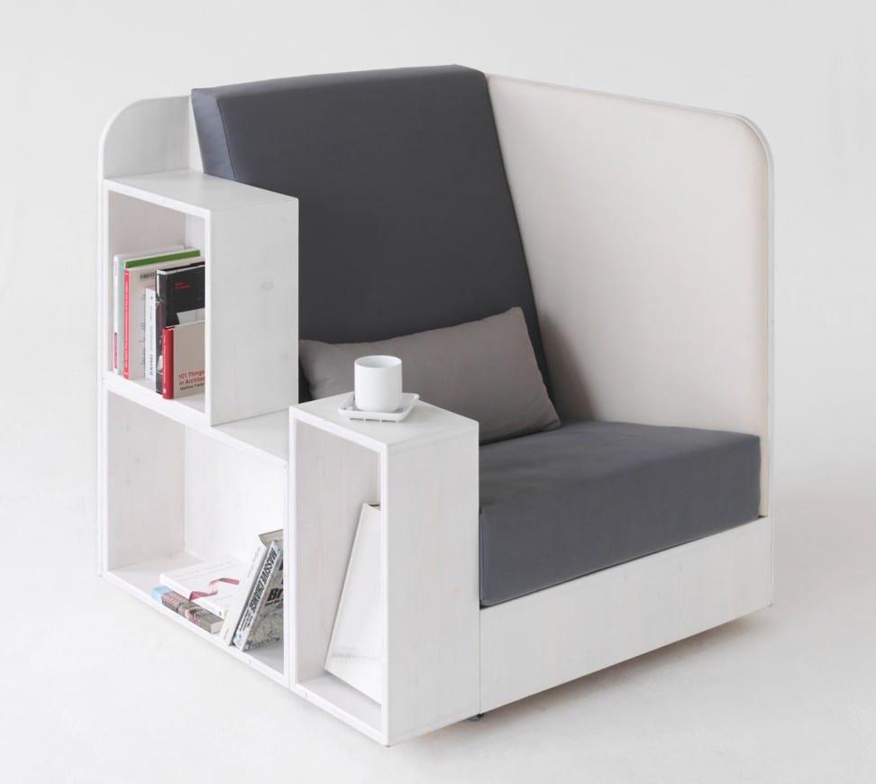 funktionelles Bücherregal-Sessel