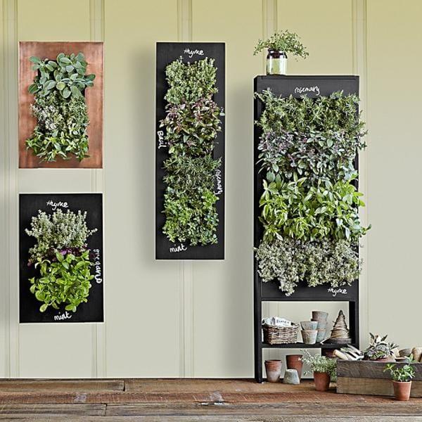 ausgehängte Pflanzenkasten für Wand