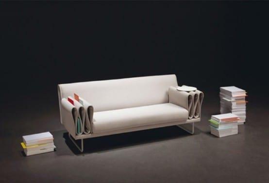 Sofa-Lesemöbel für Zeitschriften