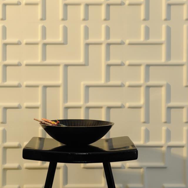 Wandpaneele mit Tetris-design