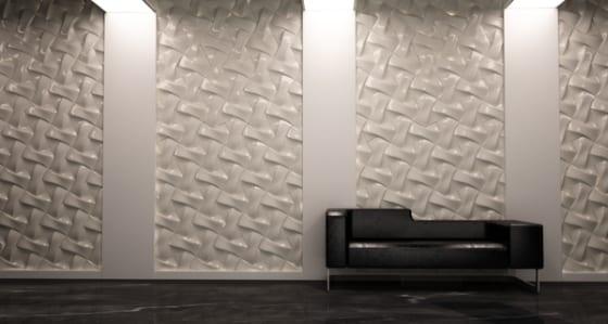 44 Ideen für erstaunliche 3D-Wandverkleidung