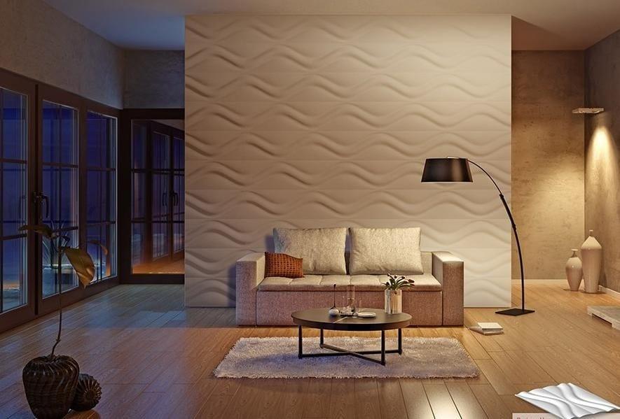 44 Ideen für erstaunliche 3D-Wandverkleidung - fresHouse