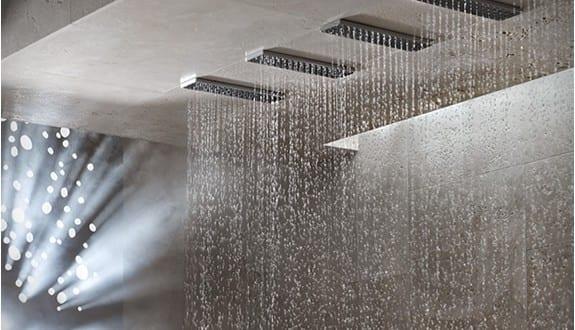 Moderne und innovative Dusche