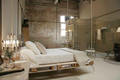 21 Ideen für Palettenbett im Schlafzimmer - fresHouse
