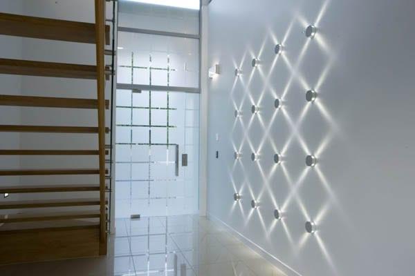 moderne Wandbeleuchtung