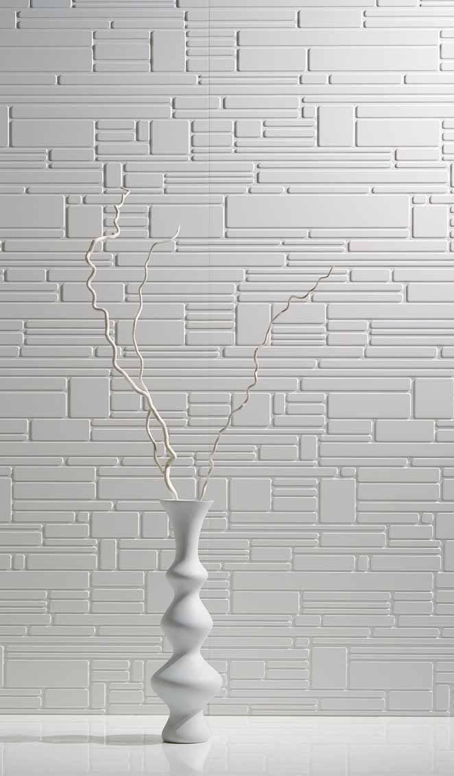 elegante 3D wandpaneel-dekoration