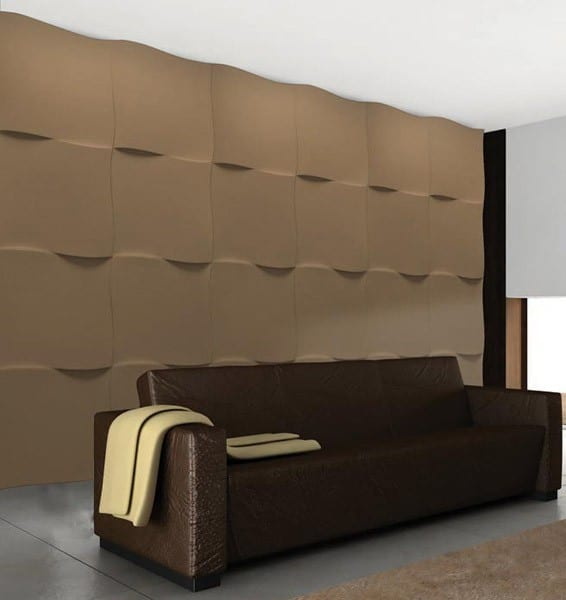 44 ideen f r erstaunliche 3d wandverkleidung freshouse. Black Bedroom Furniture Sets. Home Design Ideas