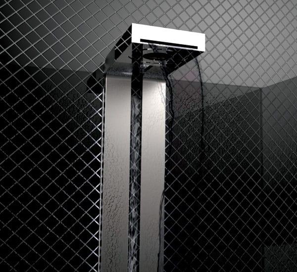 moderne Dusche mit Sensoren