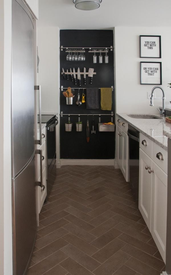 Einrichtung kleiner Küche - fresHouse