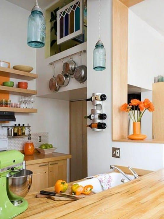 interessante-gestaltungsidee-für-kleine-küche