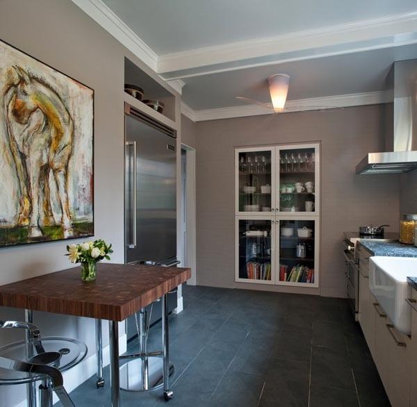 einrichtung kleiner k che freshouse. Black Bedroom Furniture Sets. Home Design Ideas