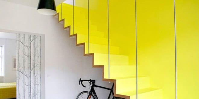 Moderne und kreative Innenraum-Holztreppen