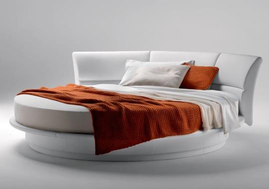 9 ideen für rundbett im schlafzimmer - freshouse - Runde Betten Schlafzimmer Moebel Ideen