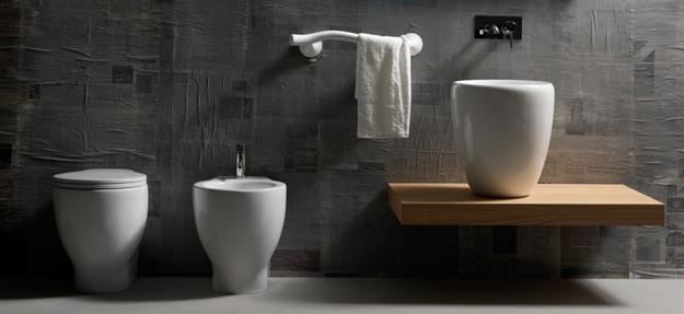 moderne Einrichtung Badezimmer