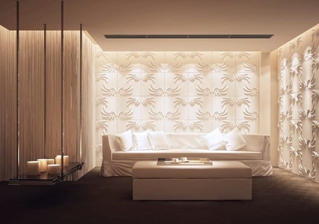 3D Wandverkleidung für Wohnzimmer