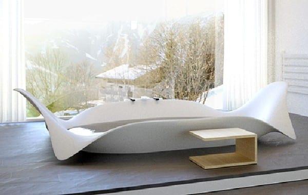 designer-freistehende-Badewanne