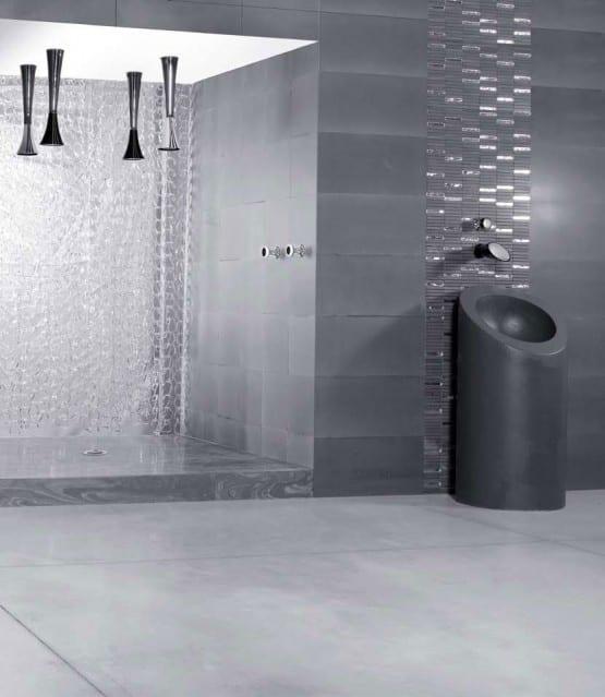 Marmorboden für die Dusche