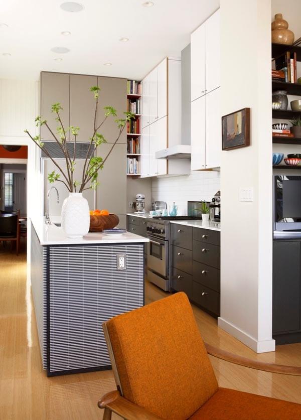 kuche und wohnzimmer in einem kleinen raum: einrichten wohnen mit, Hause ideen