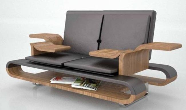 moderne Sofa-Lesemöbel