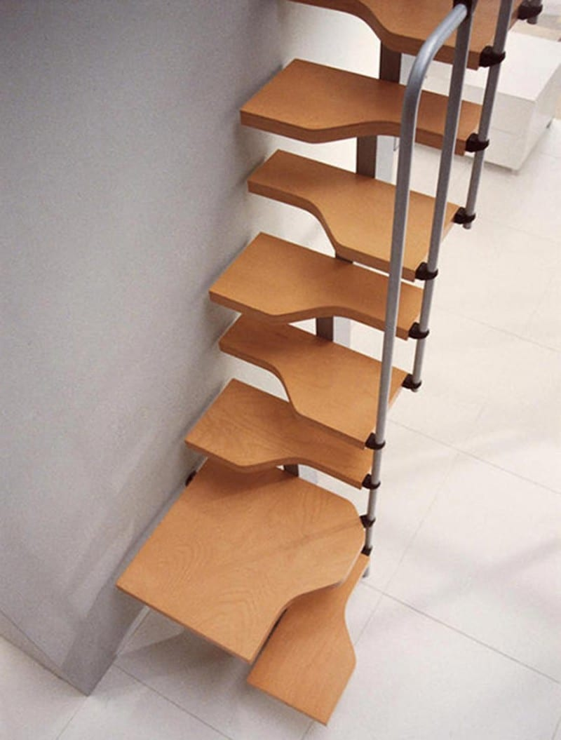 staircase designs for small furniture interior killer contemporary wooden stairs for small house 13 creative and unique staircase design for small spaces smallest spiral staircase under staircase stor - 32+ Small Space Staircase Design For Small House Pictures