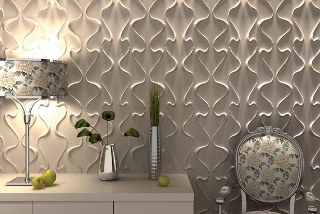 moderne  3D Wandpaneelen für luxuriöse Gestaltung