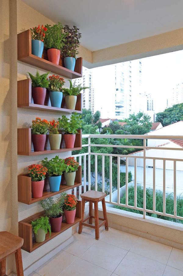 dekorationsideen für den Balkon