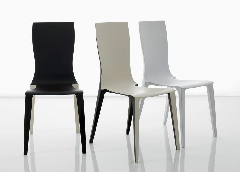 DEsigner Esszimmerstühle in Doppelfarbe von Compar mobil