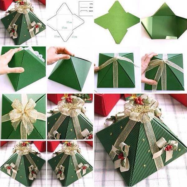 weihnachtsgeschenkideen- verpackungsidee
