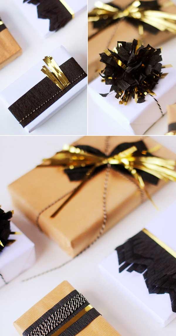 DIY Verpakungen für Weihnachtsgeschenke