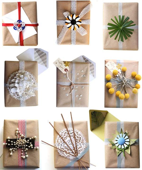 geschenkverpackungsideen fürs weihnachten