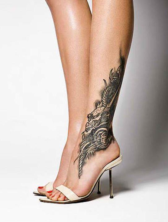 elegante tattoo idee