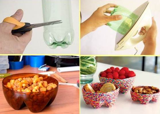 Basteln mit pet flaschen kreative wohnideen aus for Creative things to do at home out of waste
