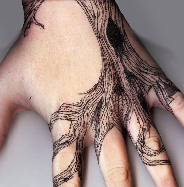 Tattooideen für Hand