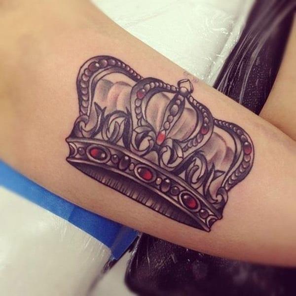 Tattooideen- Kronetattoo