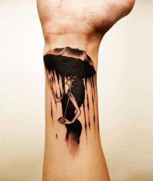 Mit drachen tattoo frau Wikinger Tattoo