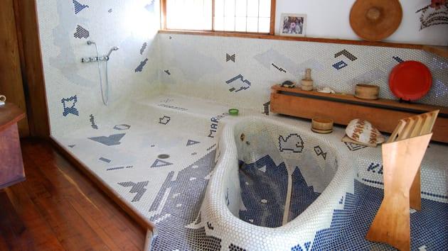 badezimmer mosaik gestaltungsidee-bad mit kinder-pool