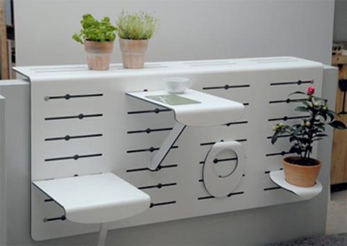balkon einrichtungsideen- klappbare möbel