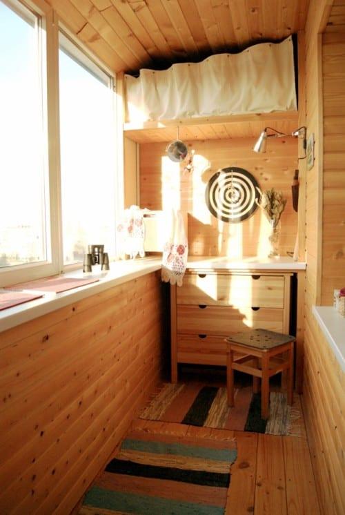 kleiner balkon als mehrzweckraum-einrichtungs ideen