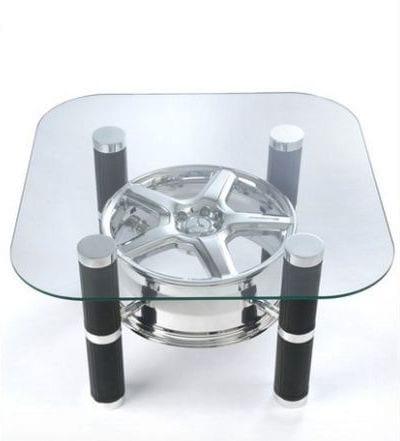 felge-couchtisch- moderne Autoteile-Möbel