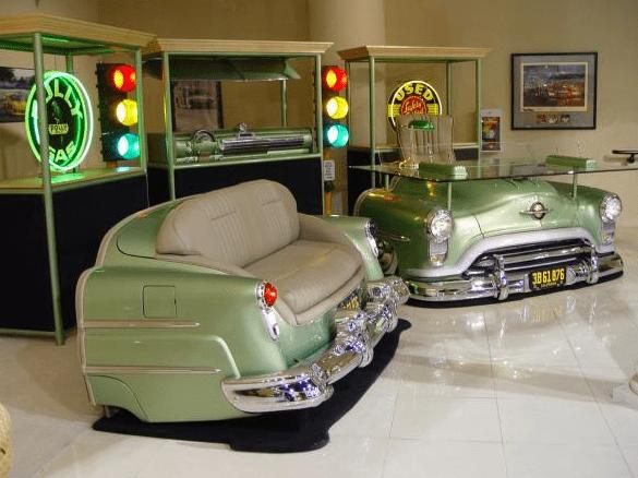 kreative spielraum einrichtungsidee mit Automöbeln