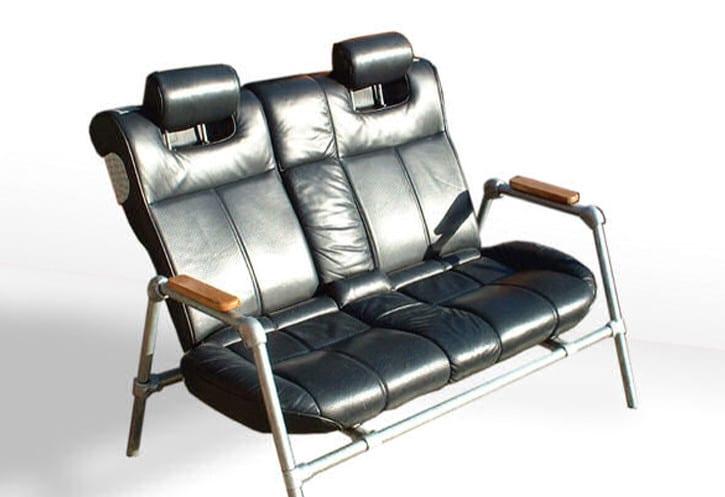automöbel design-schwaz ledersitze