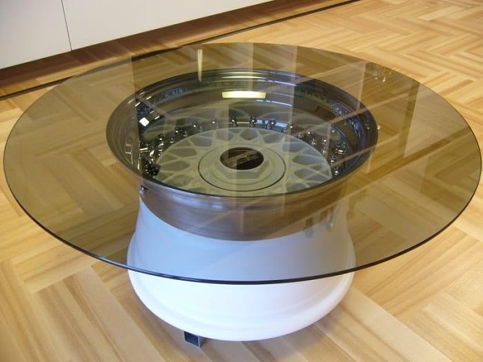 Carmobel Kreatives Und Modernes Mobeldesign Aus Autoteilen Freshouse