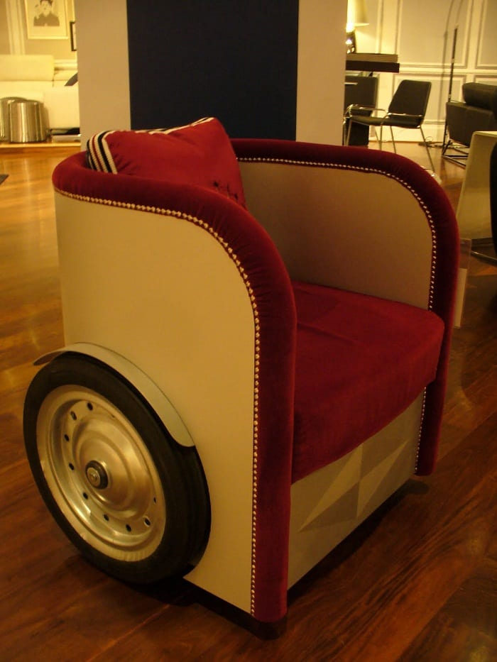 Carmöbel - kreatives und modernes Möbeldesign aus Autoteilen ...