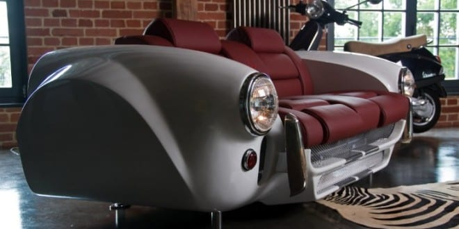 Carmöbel – kreatives und modernes Möbeldesign aus Autoteilen