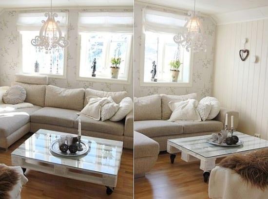 Farbpalette- Möbel aus paletten- wohnzimmer einrichungsideen