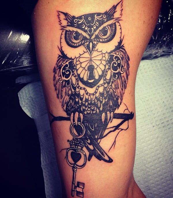 Tatto idee-Armtattoo-Vogel