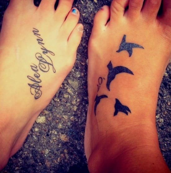 sommer tattoo idee