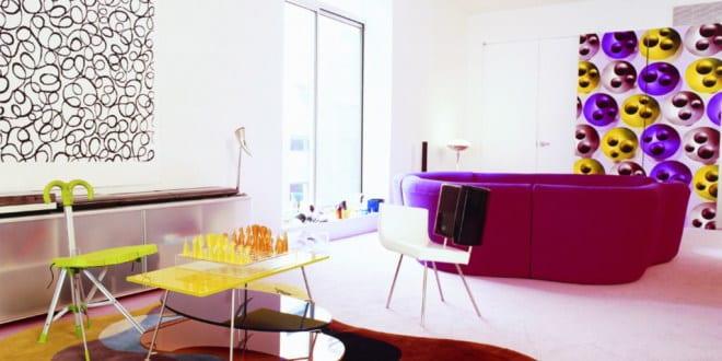farbrausch sch ner wohnen kreative wohnzimmer gestaltung. Black Bedroom Furniture Sets. Home Design Ideas